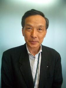 橋本治朗氏近影(08年6月、(株)ランナーズ本社にて撮影)